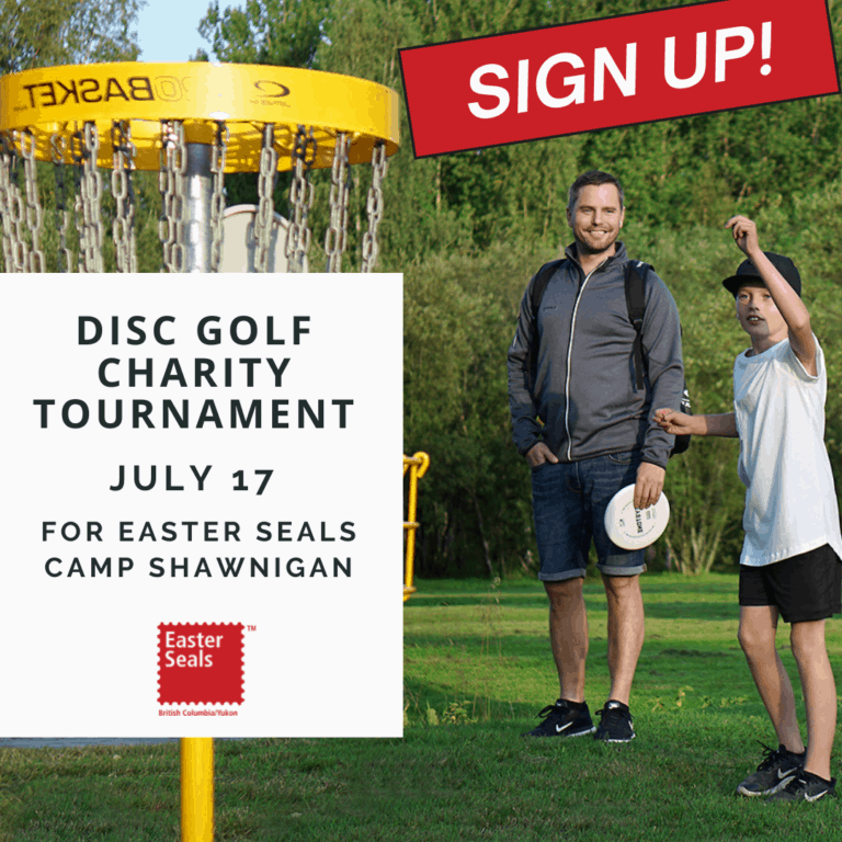 Support a Great Cause, Play Disc Golf!
